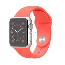 Watch Pink Black Sport band 42mm