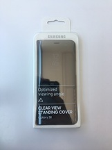 Clear View Standing Cover за Samsung Galaxy S8