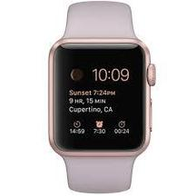 Watch Lavender Rose Gold Sport band 38mm