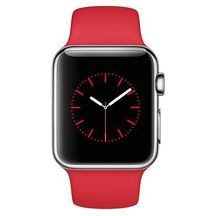 Watch Stainless Steel Red Sport band 38mm