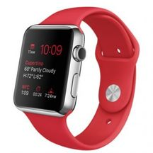 Watch Red Sport band 42mm