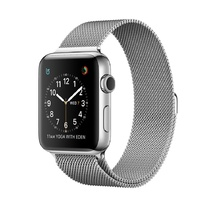 Stainless Steel Case with Silver Milanese Loop 38mm Series 2