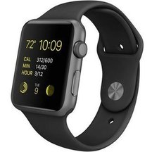 Watch Black Sport band 42mm