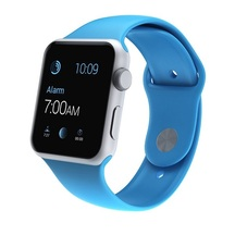 Watch Blue Sport band 42mm