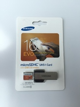 Micro SD Samsung 16GB with USB redaer