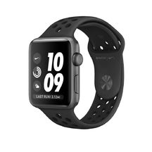 Space Gray Aluminum Anthracite/Black Nike Sport 42mm Series 2