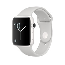 White Ceramic Cloud Sport Band 42mm