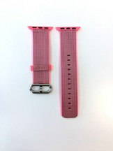 Каишка Apple Watch Pink Woven Nylon 38mm