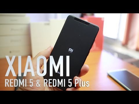 Xiaomi Redmi 5 и Redmi 5 Plus видео ревю