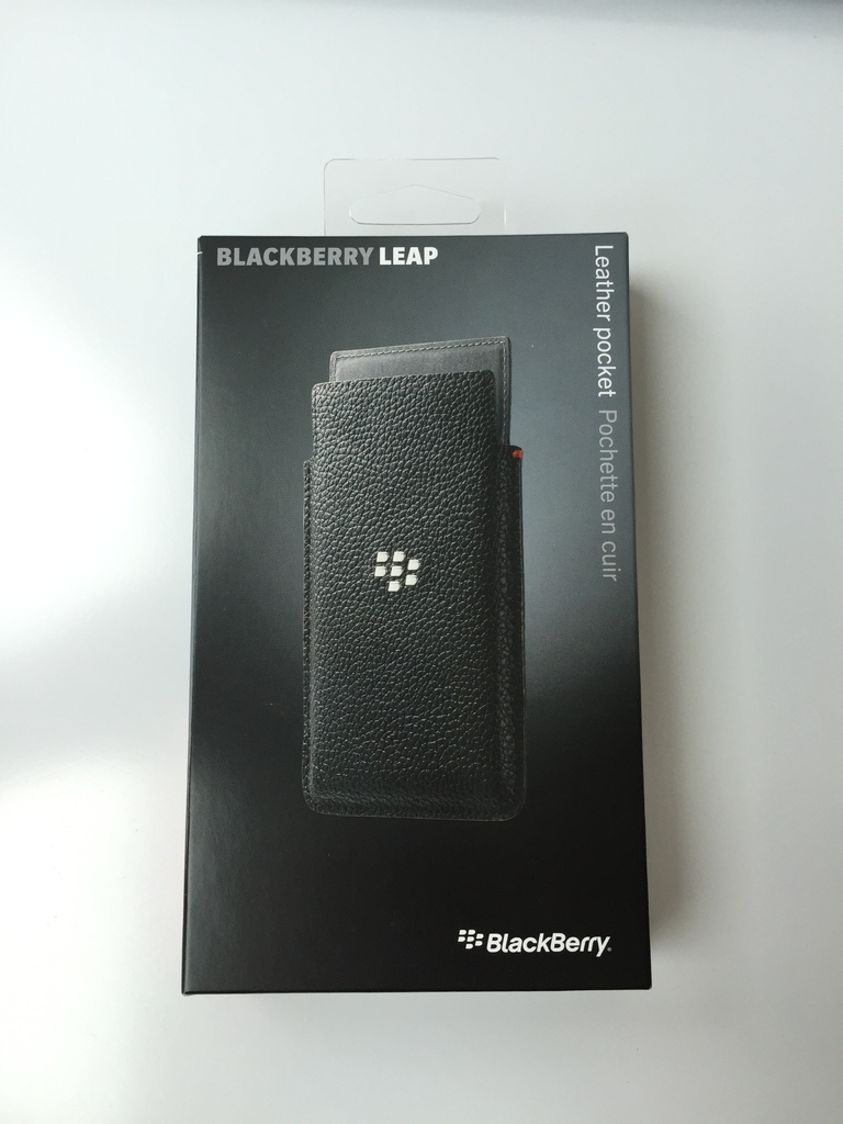 Leather Pocket калъф за BlackBerry Leap