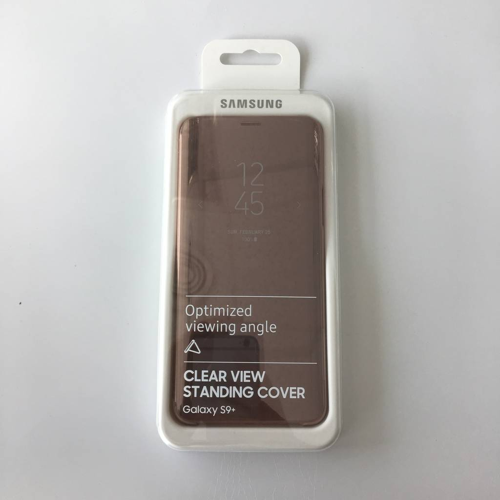 Clear View Standing Cover за Samsung Galaxy S9+ plus