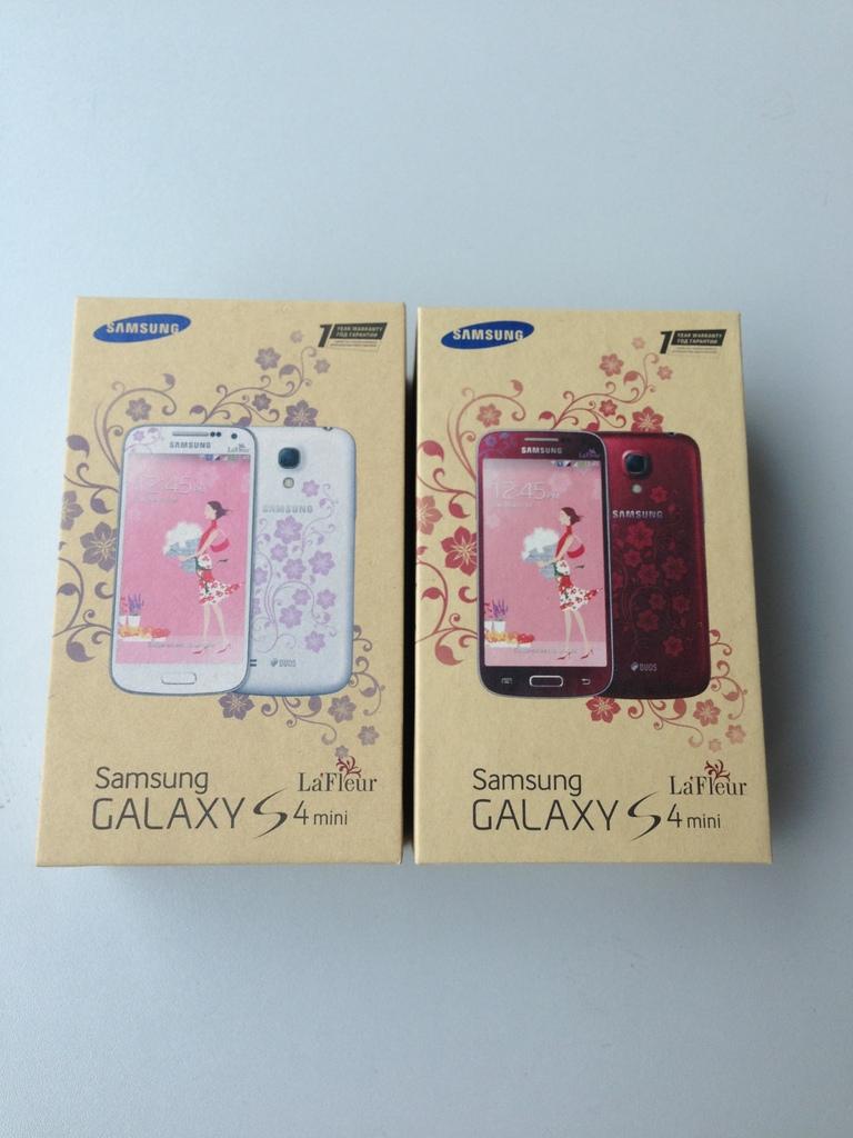 Samsung Galaxy S4 Mini Duos La Fleur I9192 Cena Za Mini S Dve Sim V