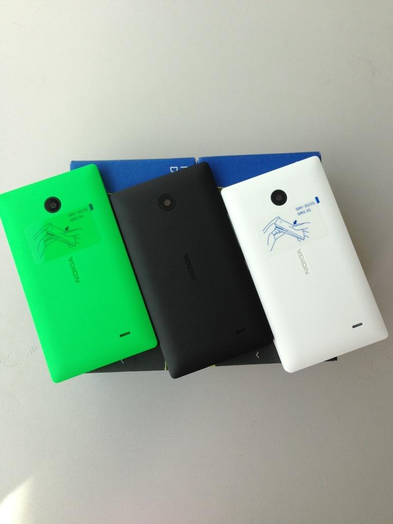 Nokia X Dual Sim 4gb Cyan