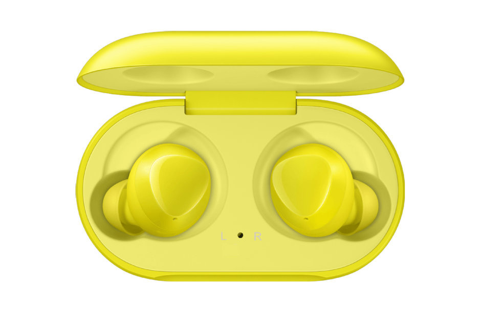 Bluetooth слушалки Samsung Galaxy Buds by AKG - Yellow