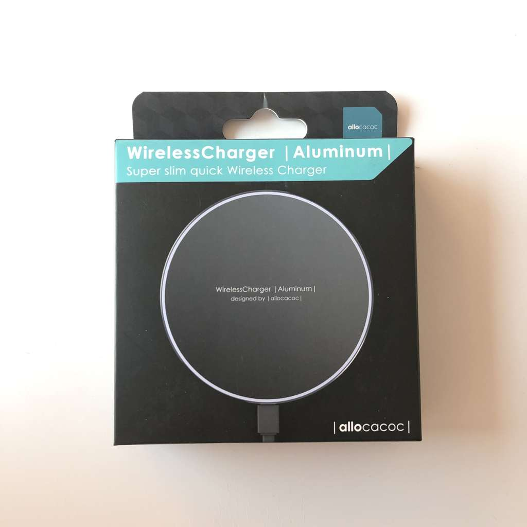 Wireless Charger зарядно Allocacoc Aluminum (10W MAX)