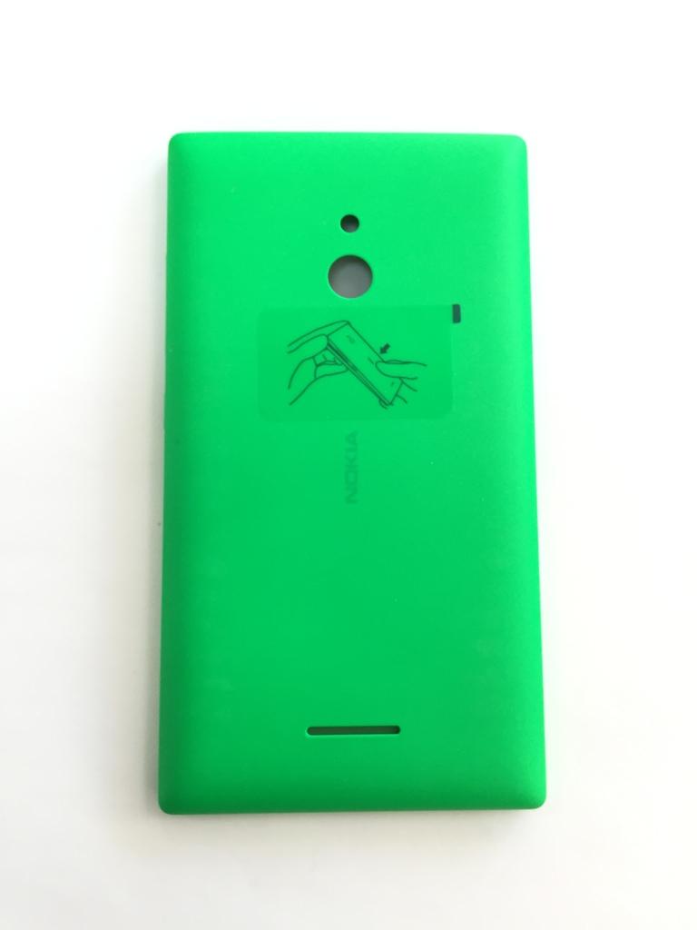 Nokia Xl Back Coverpanel Citytel Green