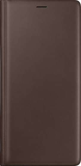 Leather Wallet Cover за Samsung Galaxy Note 9 - brown