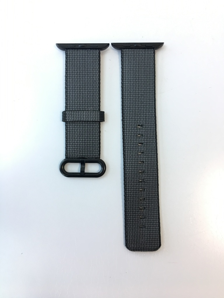 Каишка Apple Watch Black Woven Nylon 42/44mm