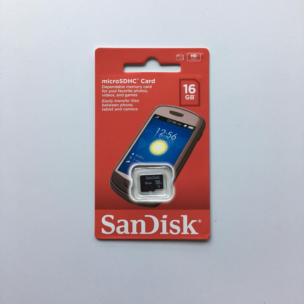 Micro SD SanDisk 16GB