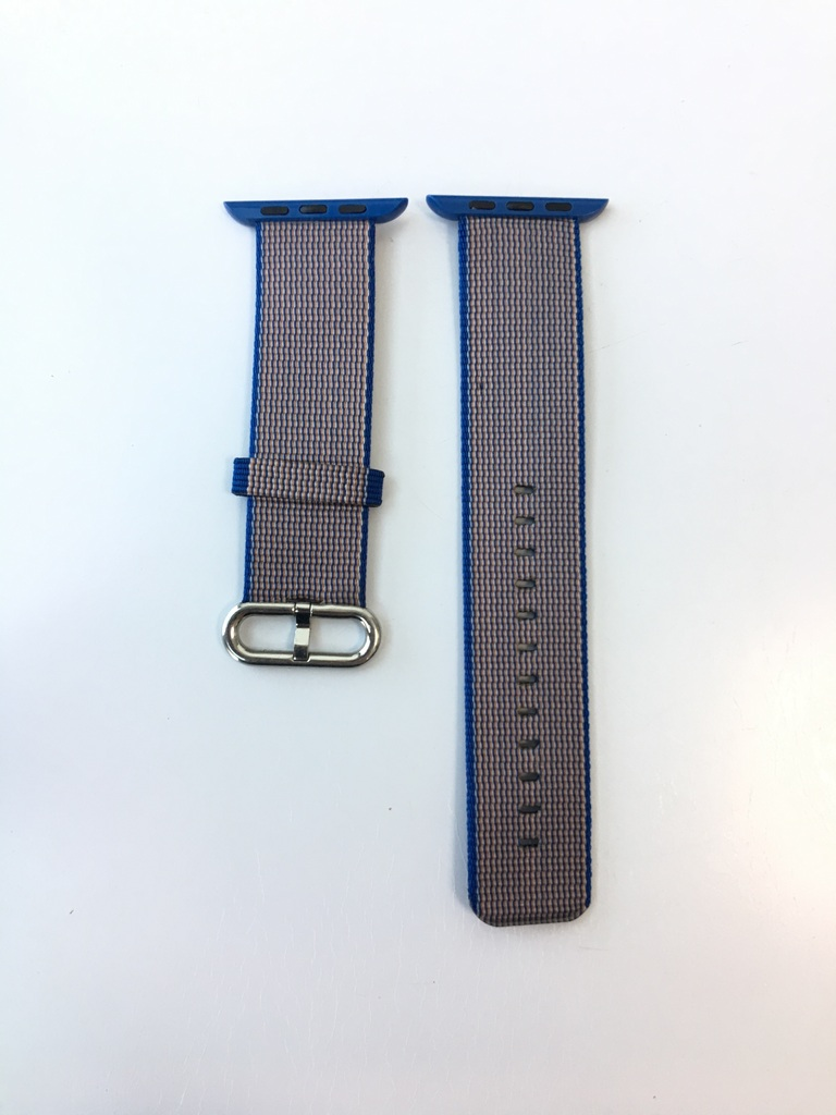 Каишка Apple Watch Royal Blue Woven Nylon 42/44mm