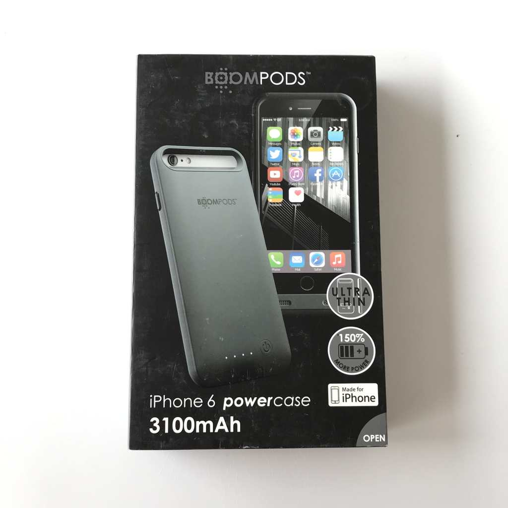 Power Bank Case Boompods за Iphone 6 3100 MAH