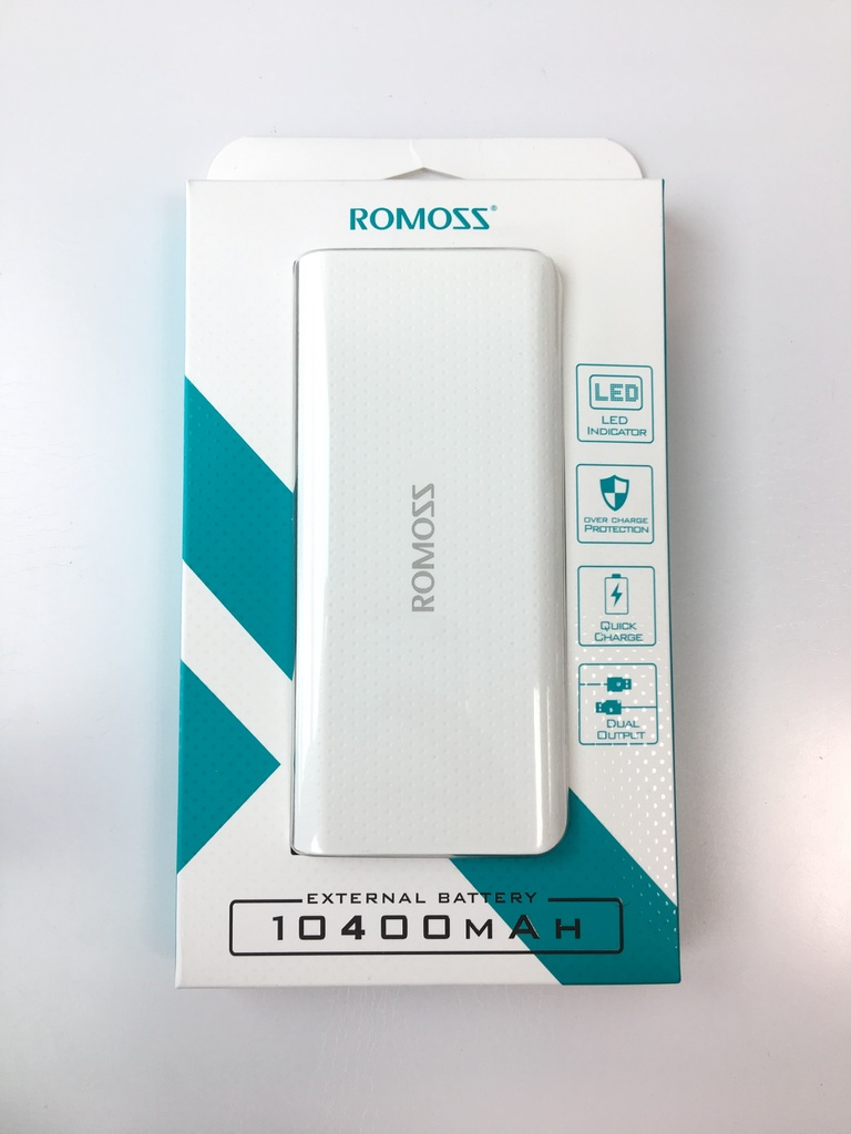 Power Bank батерия ROMOSS LED 10400 mAh