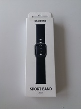Силиконова каишка за Samsung Galaxy Watch Active R500 20mm - Black