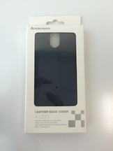 Leather back cover за Lenovo A1000