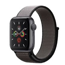 Apple Watch Space Gray Aluminum Case/Anchor Gray Sport Loop 40mm Series 5