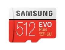 Micro SD Samsung 512GB EVO Plus