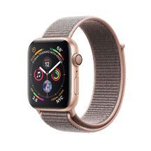 Apple Watch Gold Aluminum Case with Pink Sand Sport Loop 40mm Series 4 GPS