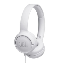 Слушалки JBL T500 HEADPHONES - white