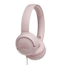 Слушалки JBL T500 HEADPHONES - pink