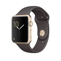 Gold Aluminum Cocoa Sport Band 42mm Series 1