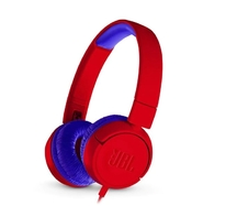 Слушалки JBL JR300 HEADPHONES - red