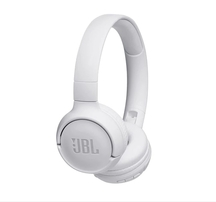 Bluetooth слушалки JBL T500BT headphones - white