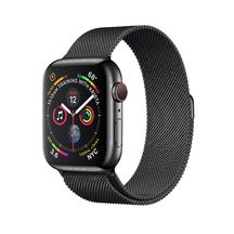 Apple Watch Black Stainless Steel Case/Milanese Loop 44mm Series 4 GPS + Cellular