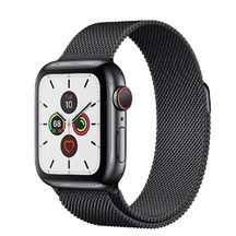 Apple Watch Black Stainless Steel Case with Milanese Loop Series 5 GPS + Cellular