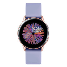 Samsung Galaxy Watch Active2 Aluminum Pink Gold/ Violet strap 40mm R830 (Wi-Fi)