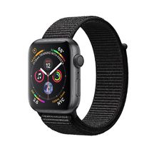Apple Watch Space Gray Aluminum Case with Black Sport Loop 40mm Series 4 GPS