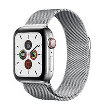 Apple Watch Stainless Steel Case with Milanese Loop 44mm Series 5 GPS + Cellular