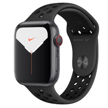 Watch Nike Space Gray Case/Anthracite Black Sport Band 44mm Series 5 GPS + Cellular