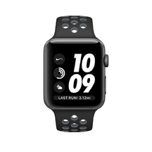 Space Gray Aluminum Black/Cool Gray Nike Sport 38mm Series 2