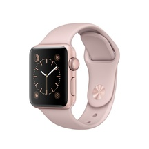 Rose Gold Aluminum Pink Sand Sport Band 42mm Series 1