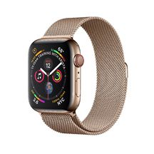 Apple Watch Gold Stainless Steel Case with Gold Milanese Loop 44mm Series 4 GPS + Cellular