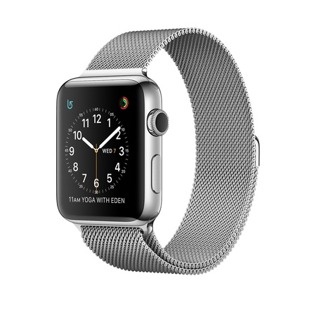Stainless Steel Case with Milanese Loop 42mm