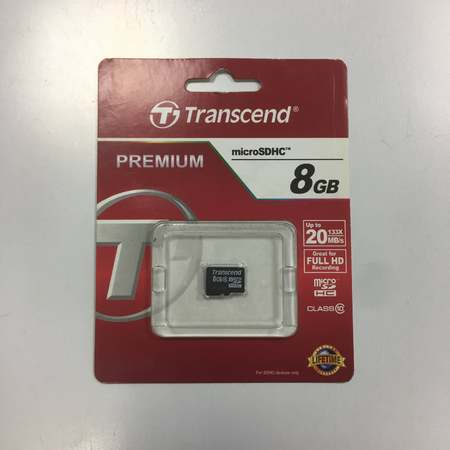 Micro SD Transcend 8GB