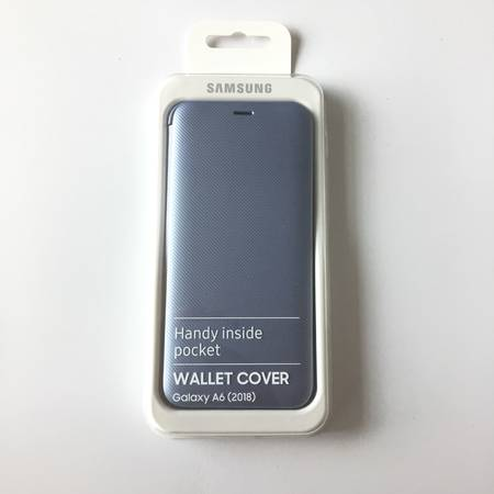 Flip Wallet Cover за Samsung Galaxy A6 A600 (2018)