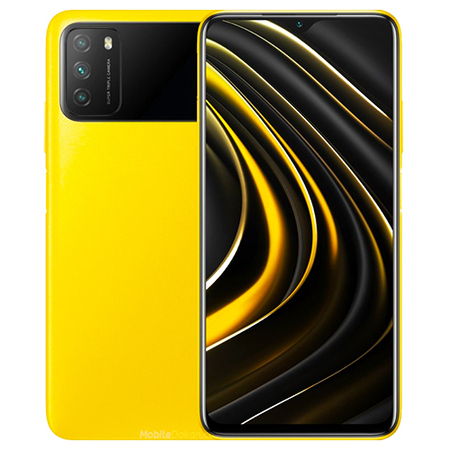 Xiaomi Poco M3 64GB + 4GB RAM Yellow