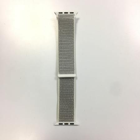 Светло сива каишка Gray Sport Loop 40mm